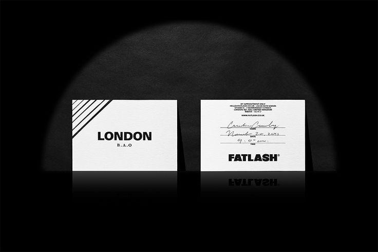 We Love Invitations. Fatlash. Design by www.anagrama.com
