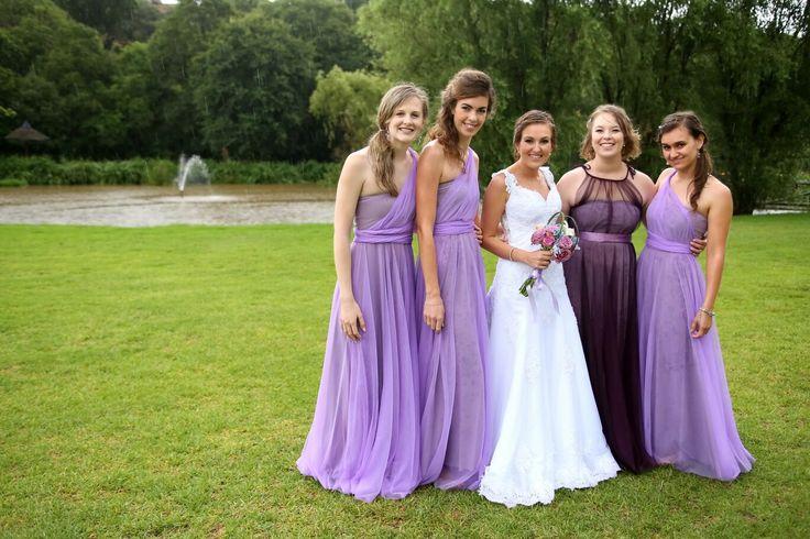 Purple wedding colours