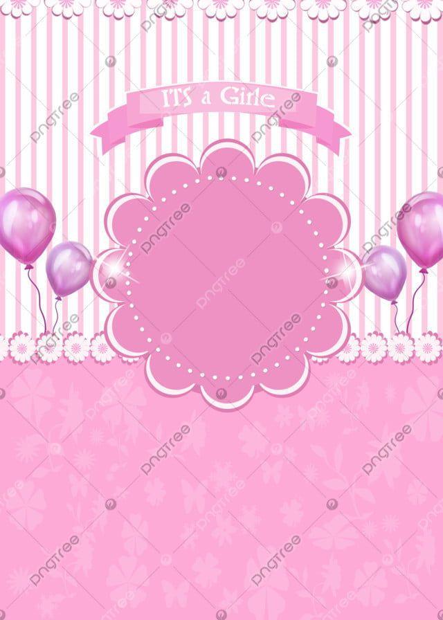 Cute Baby Girle Background Beautiful Frame Pop Up Frame Baby Cards Baby Shower Cards Background untuk bayi perempuan hd