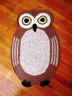 Vivian Crochet   The Fashion One Click: OWL CROCHÊ!