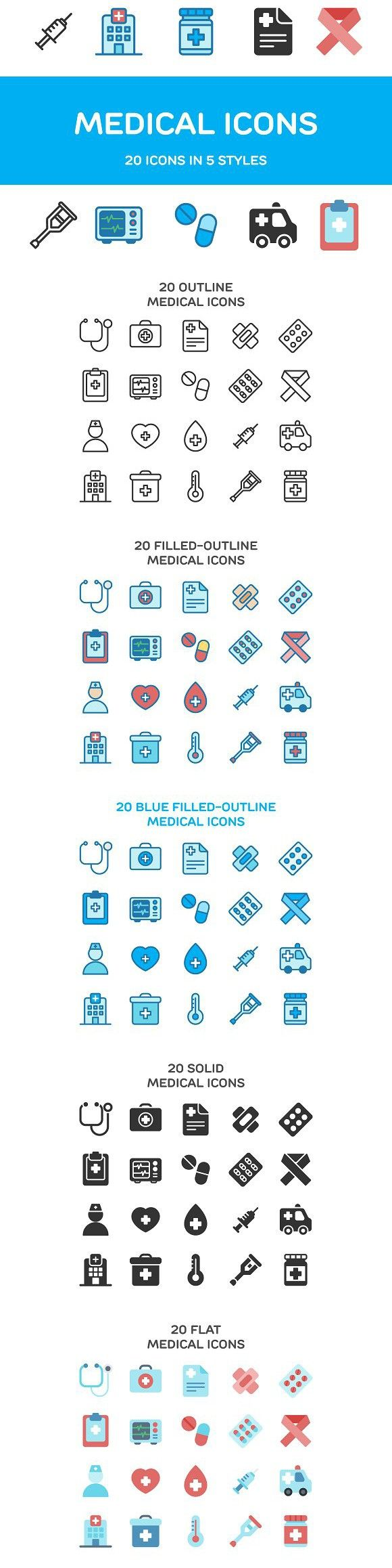 Medical Icons. Medical Infographic