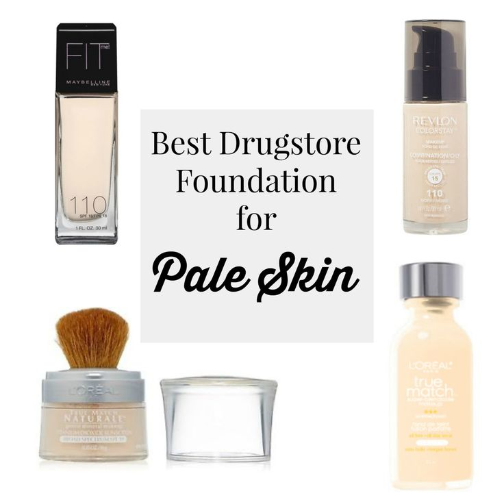 Best Drugstore Makeup for Pale Skin                                                                                                                                                                                 More