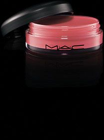 always love their products--this is a new favorite MAC tinted lip conditioner w/spf 15.  It is AMAZING. Color is petting pink