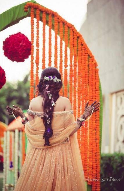 Flowers In Hair Half Up Brides 38 Ideas