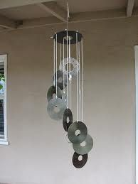 """a """"musical"""" wind chime.  I have many old CDs...I may have to try this."""