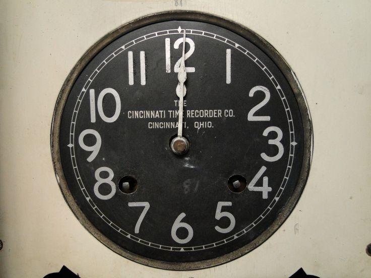 Ballarat Tram Depot time clock