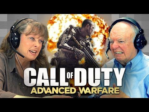 """""""I wonder if my grandson's name is on here."""" Benny and Rafi Fine of The Fine Brothers capture the reactions of senior citizens as they play online multiplayer in the 2014 first-person shooter video..."""
