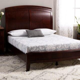 Split Panel Queen-size Wooden Sleigh Bed | Overstock.com Shopping - The Best Deals on Beds