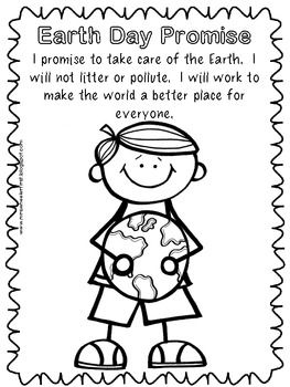 Earth Day Coloring Pages - Mrs Wheeler - TeachersPayTeachers.com free