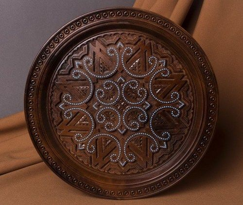 wooden plate & 11 best Decorative wooden wall plates images on Pinterest | Wall ...