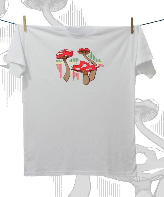 Camiseta ·MXH· Setas rasta
