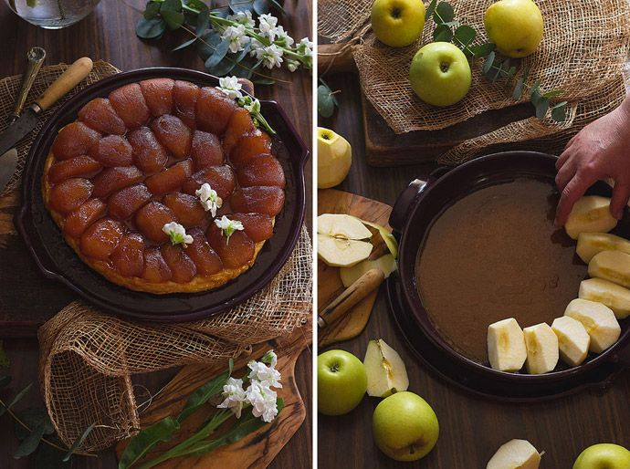 receta de tarta tatin