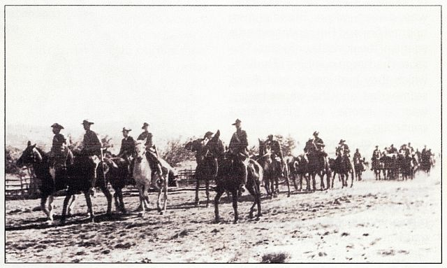 1914 Rebellion in South Africa -- mobilisation of South African government forces