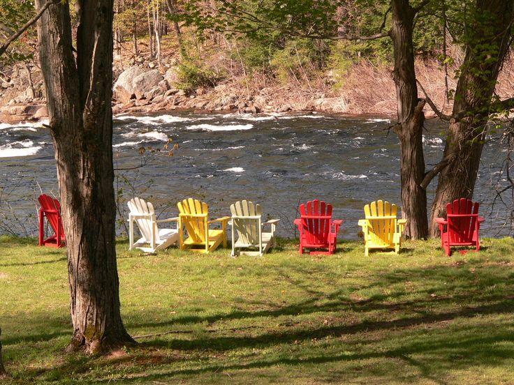 Lake Luzerne, New York. Adirondack ChairsNew ...