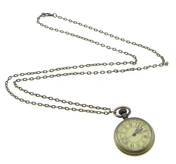 Buy Vintage Style Pocket Watch Necklace for R210.00