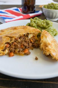 Minced beef and onion pies - Culinary Ginger
