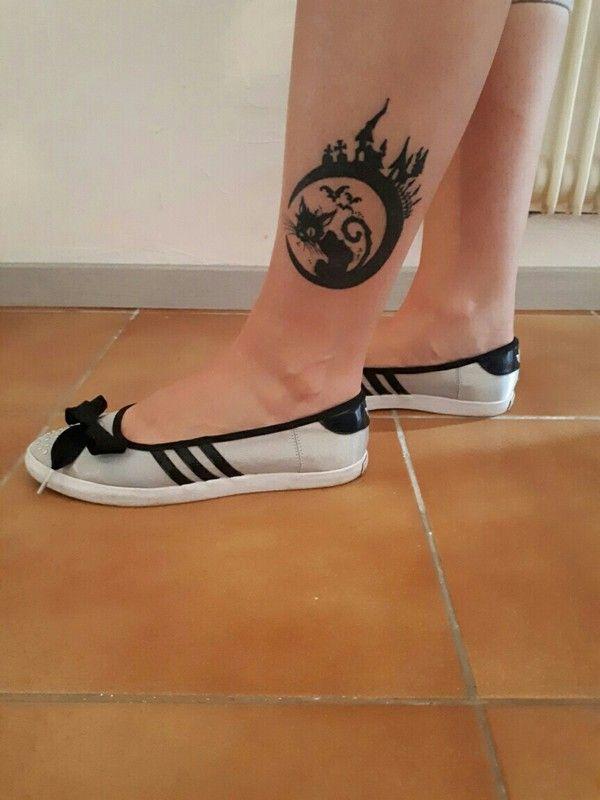 Ballerines argentées Adidas