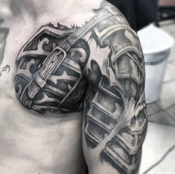 Badass Tattoo Quotes For Guys: 34 Best Armor Tattoo Images On Pinterest