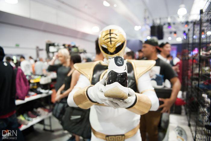 White Power Ranger w/ Concord 11's #45