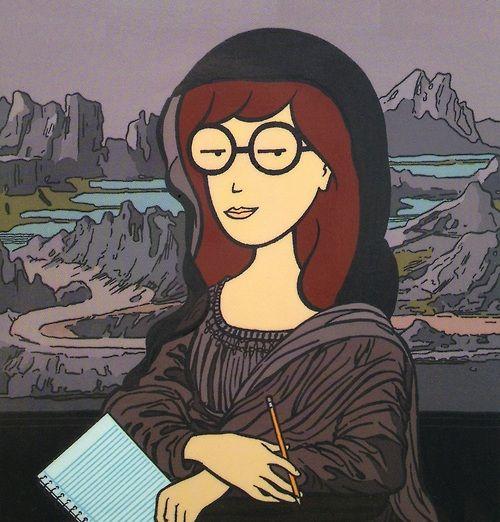Daria as the Mona Lisa