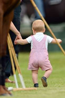 Le prince George à Cirencester, le 17 juillet 2014 - Nunn Syndication/News Pictures