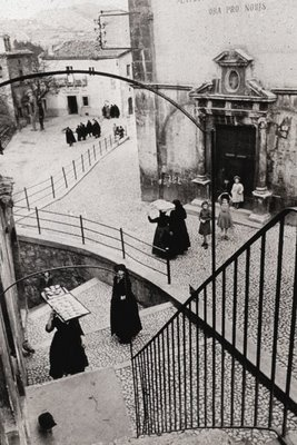 Scanno by Mario Giacomelli and Henri Cartier-Bresson.  The homeland of my ancestors