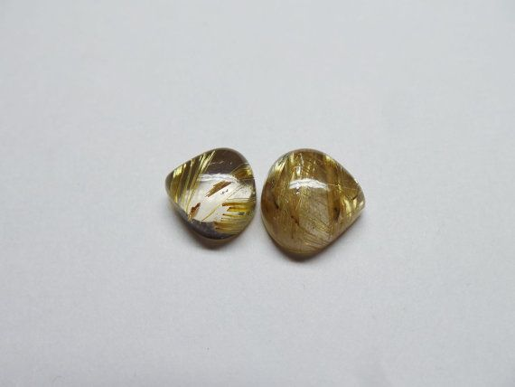 Awesome Natural Golden Rutile AAAA Top High by StarGemBeads