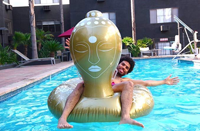 The Pool Room Buddha Pool Float Luxury Giant Inflatable Toys
