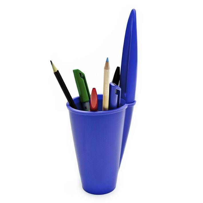 Porta L Pis Tampa De Caneta Azul Cool Products