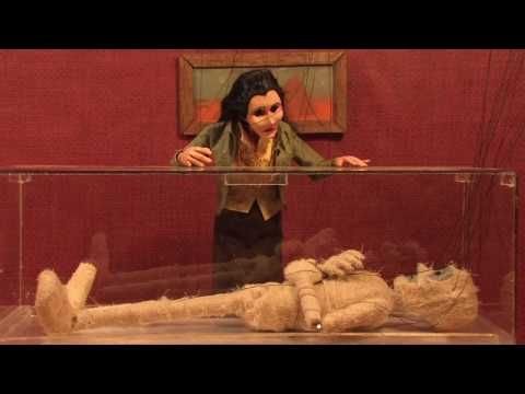'The Curse' (2010). | About: An Egyptian mummy falls for an archaeologist. | Info from site: Song by Josh Ritter. Videography and editing by Marie Le Claire. Puppeteering by Liam Hurley and Kevin White. Puppet maker not specified. | Artist interview ('The Curse'): http://www.fuelfriendsblog.com/2010/07/10/talking-to-josh-ritter-in-telluride/