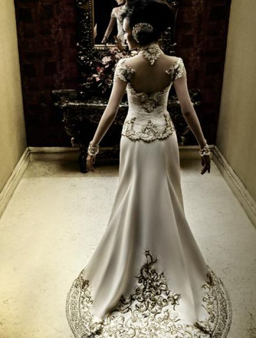 My wedding dress.  I feel like a princess
