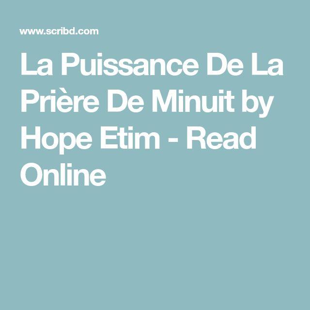 La Puissance De La Prière De Minuit by Hope Etim - Read Online
