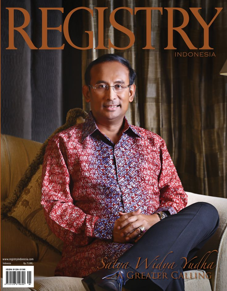 #Registry e Magazine  June - July 2014 Edition #Photographer : Registry Indonesia #Socialite : Satya Widya Yudha (A Greater Calling) #RegistryE #Cover
