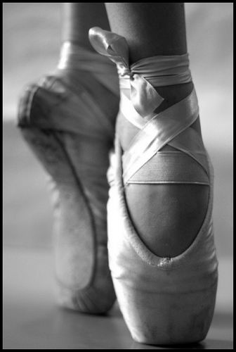 All i wanted to do when i was little was wear pointe shoes......... Now ive…