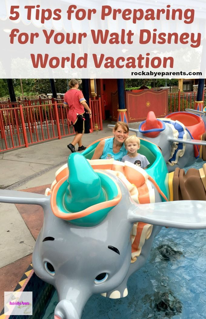 Grab these 5 Tips for Preparing for Your Walt Disney World Vacation from a past Cast Member. Plus a bonus tip for how to avoid Disney burn out!