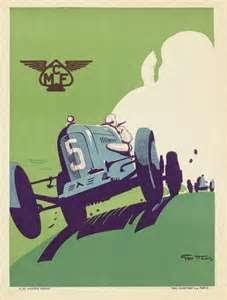 Vintage Bmw Car Poster 985