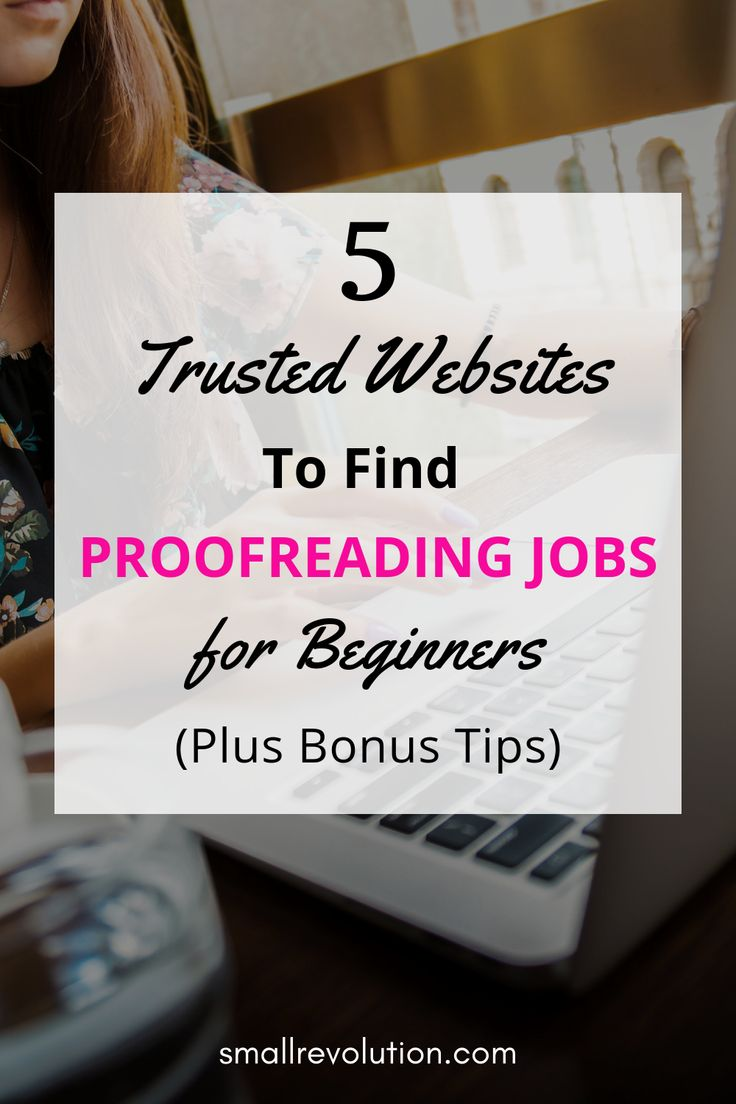 5 Trusted Websites to Find Online Proofreading Jobs for Beginners