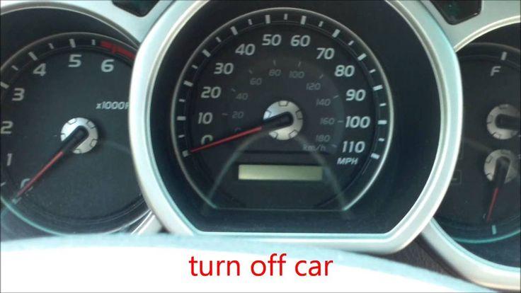 Reset oil maintenance maint light 2005 Toyota 4Runner