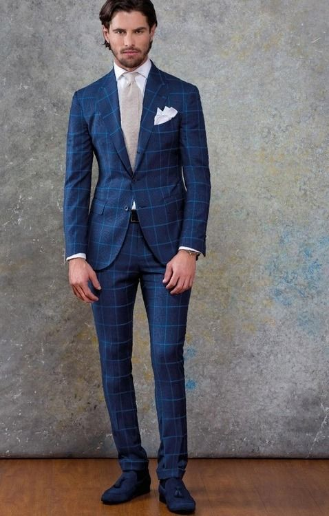 19 best Blue suit images on Pinterest | Menswear, Blue suits and ...