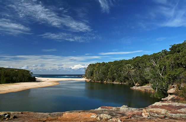 Wind down during the last leg of summer with these sacred swim spots sneakily located in and around Sydney.