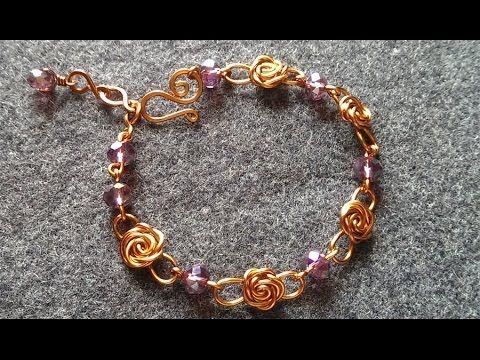 530 besten Jewelry: Wire Working Bracelets Bilder auf Pinterest ...
