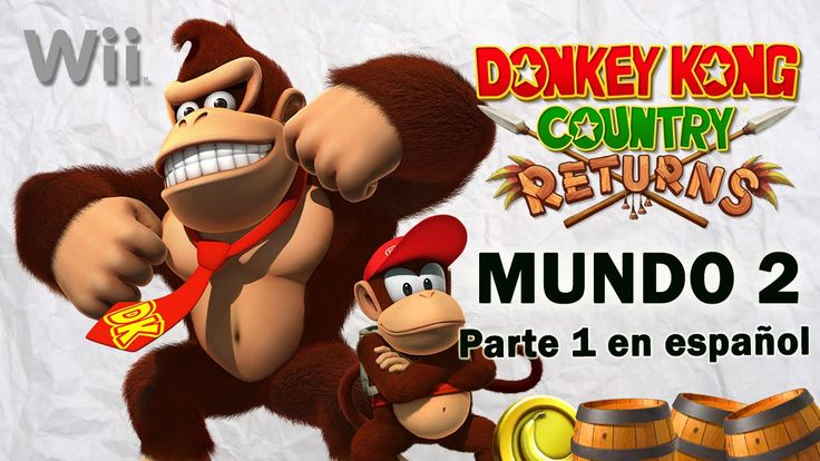 Donkey Kong Country Returns Mundo 2 - 1 en español. Gameplay de Donkey Kong Country Returns para Wii, en Wii U. Mundo 2 parte 1. Visita mi sitio web: http://www.adverglitch.com