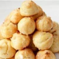 Пирожные «Профитроли» с творожным кремом