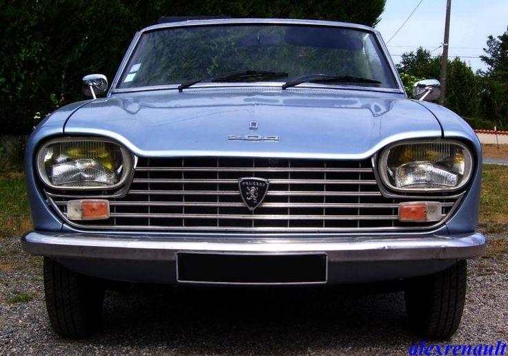 Peugeot 204 Cabriolet - 1968 - Le blog de alexrenault