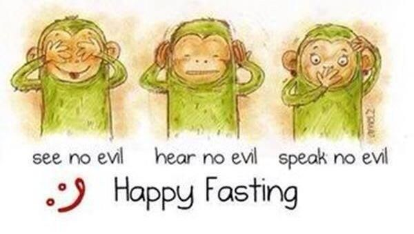 """""""Part of fasting is to control the tongue and suppress the temper."""" — Mufti Ismail Menk"""