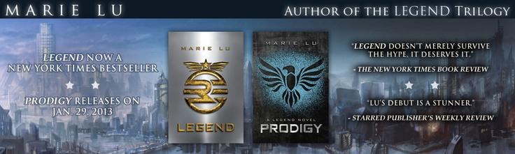 Marie Lu - Books