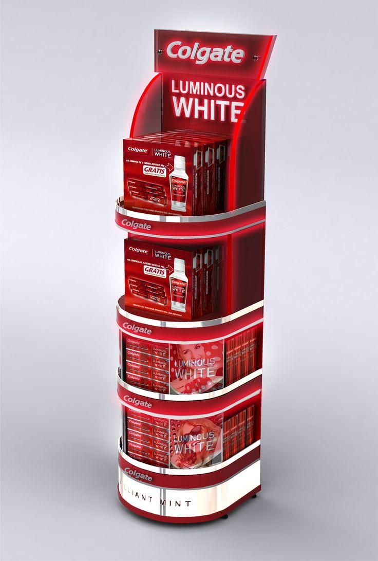 Colgate Luminous White - Display Floor Premium on Behance