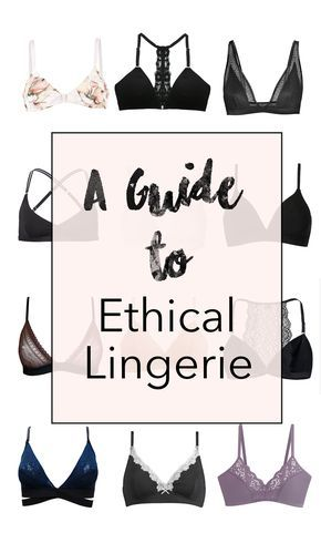 15 Ethical Lingerie Brands you need to know