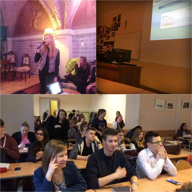 Aktywni uczestnicy, ciekawe dyskusje i wartościowe kontakty. Taka była nasza wczorajsza wizyta w Krakowie! Dziękujemy Uniwersytetowi Papieskiemu Jana Pawła II i Dziennikarskiemu Kołu Naukowemu za zaproszenie!