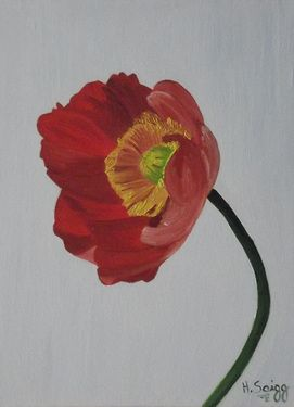 "Saatchi Online Artist Heidi Saigg; Painting, ""Flor #02"" #art"